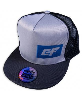 Mesh Hat Grey & Black